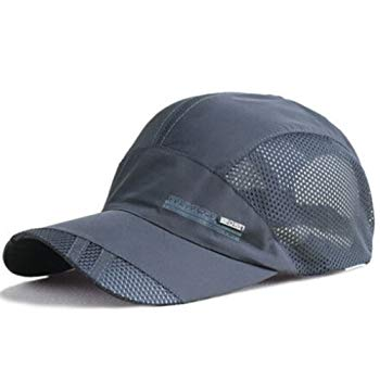 YING LAN Men's Summer Outdoor Sport Baseball Hat Running Visor Sun Cap