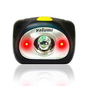 Yalumi Spark Dual 105-Lumen 90-Meter Spotlight White/Red LED Headlamp