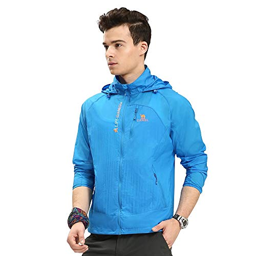 Camel Men's Lightweight Running Sun Protection Jacket