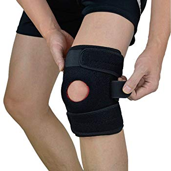 Adjustable Knee Brace Support with Dual Side Stabilizers