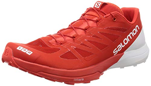 Salomon Unisex S-Lab Sense 6 Mesh, Manmade, Rubber Athletic Sneakers