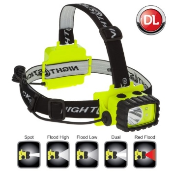 Nightstick XPP-5456G Intrinsically Safe Permissible Dual-Light Multi-Function Headlamp