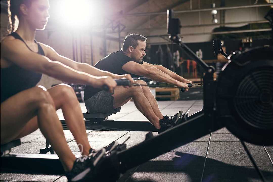 rowing machine vs treadmill